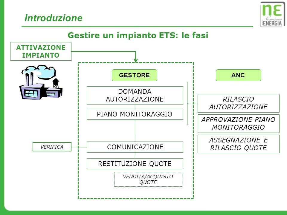 Gestire un impianto ETS: le fasi