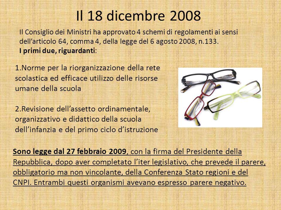 Il 18 dicembre 2008