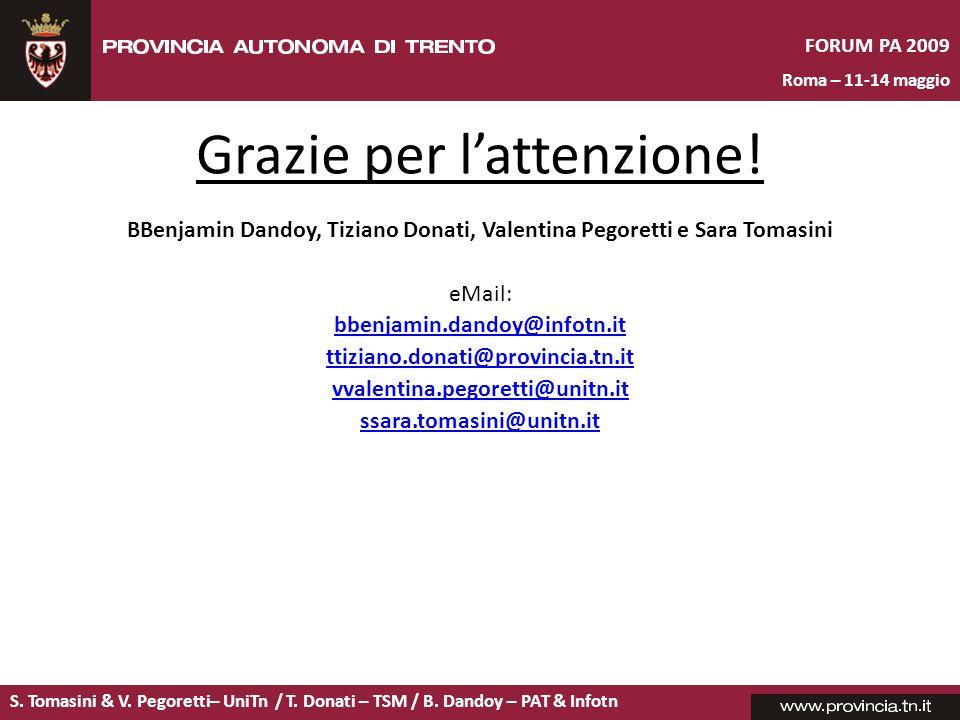 BBenjamin Dandoy, Tiziano Donati, Valentina Pegoretti e Sara Tomasini