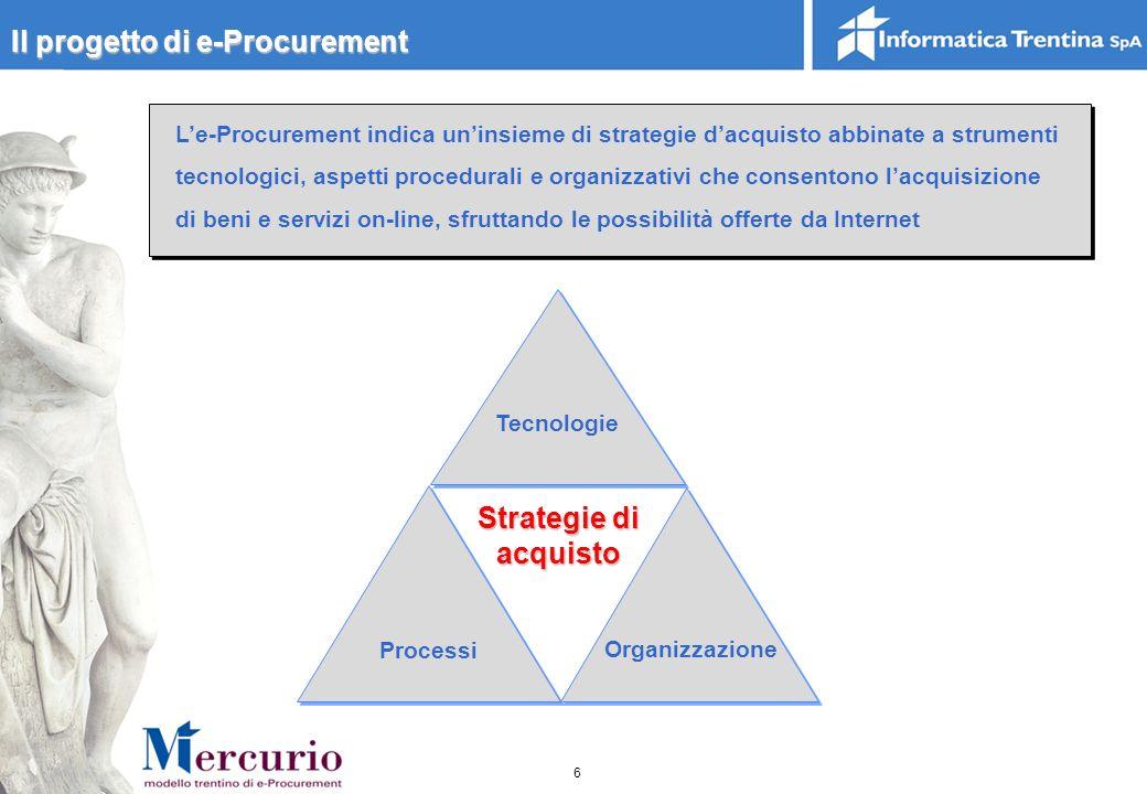 Il progetto di e-Procurement