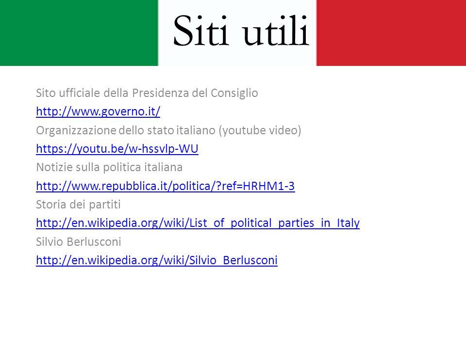 Lo stato italiano presente ppt video online scaricare for Politica italiana wikipedia