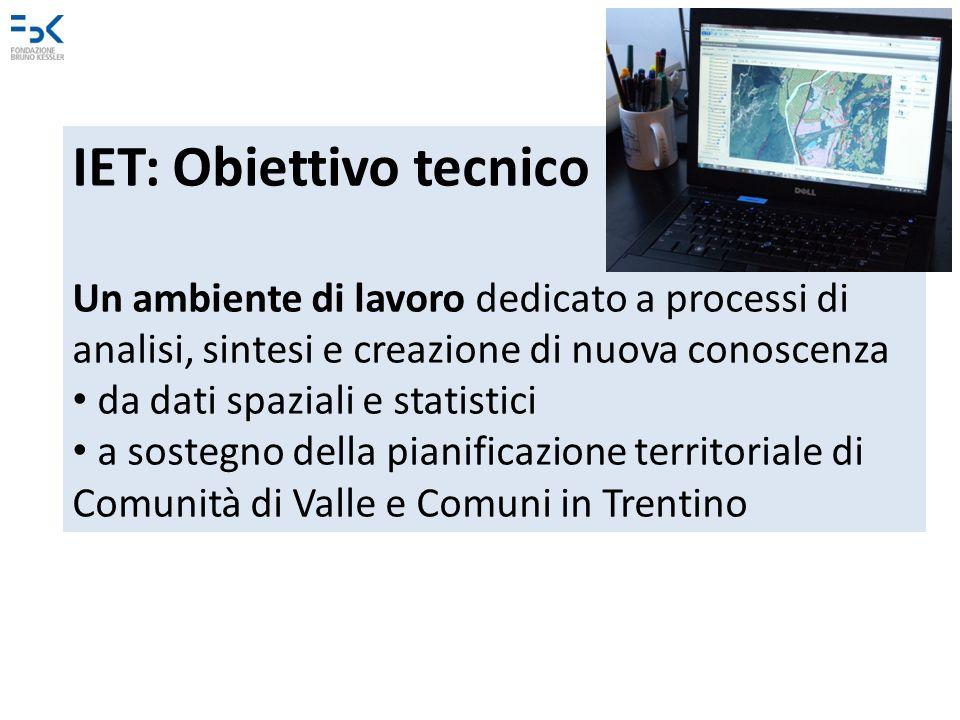IET: Obiettivo tecnico