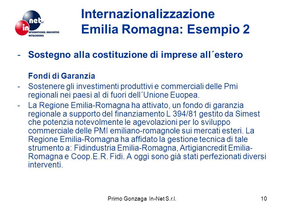 Primo Gonzaga In-Net S.r.l.