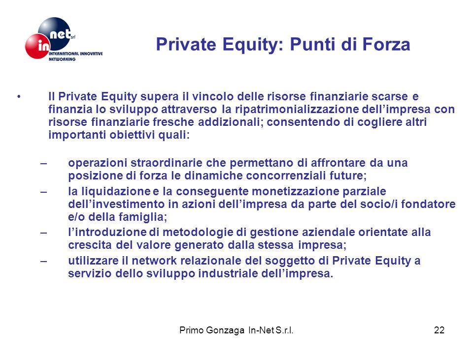 Private Equity: Punti di Forza