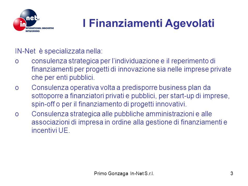 I Finanziamenti Agevolati