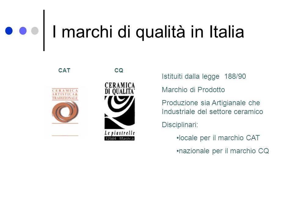 I marchi di qualità in Italia