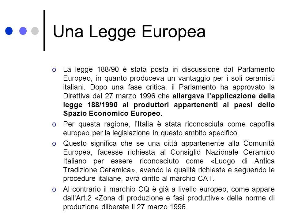 Una Legge Europea