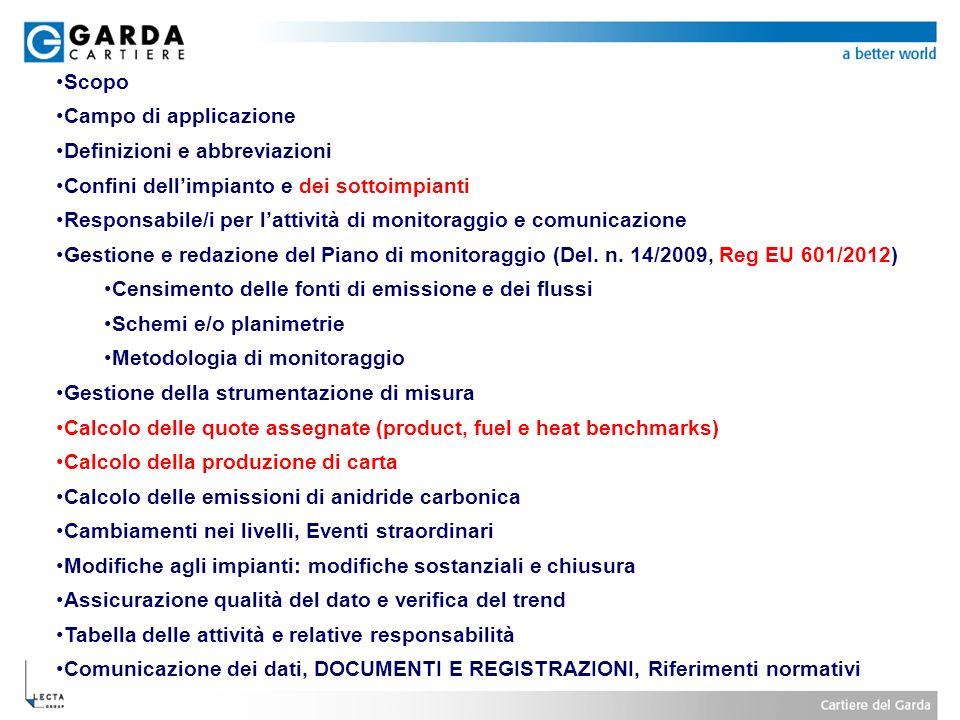 ScopoCampo di applicazione. Definizioni e abbreviazioni. Confini dell'impianto e dei sottoimpianti.