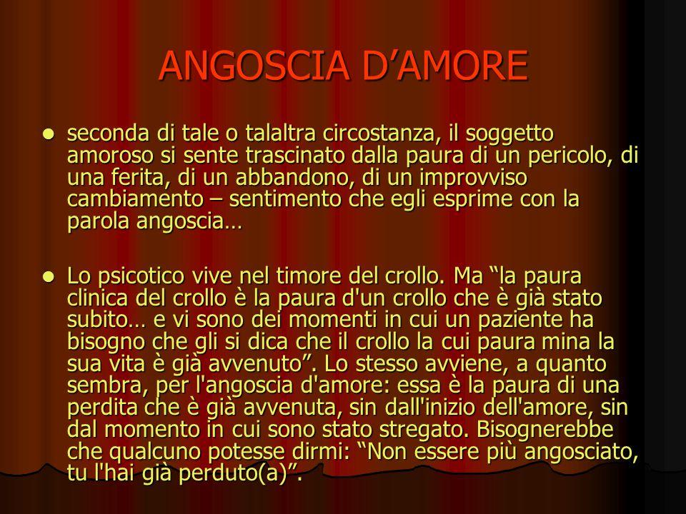 ANGOSCIA D'AMORE