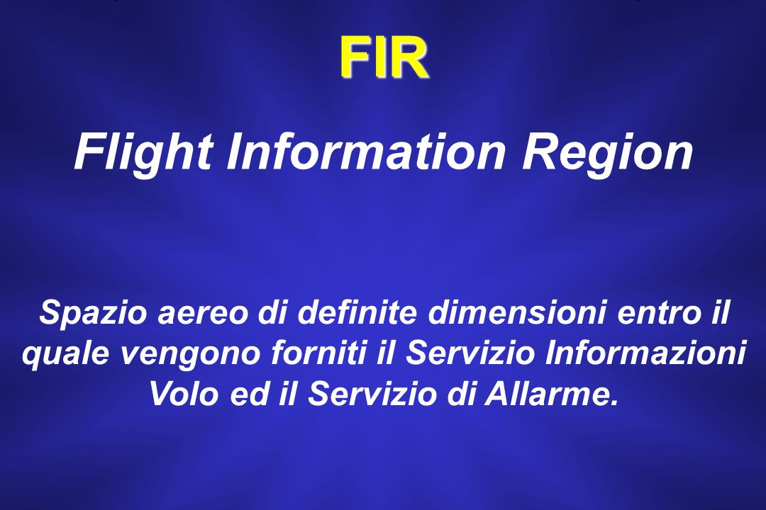 Flight Information Region