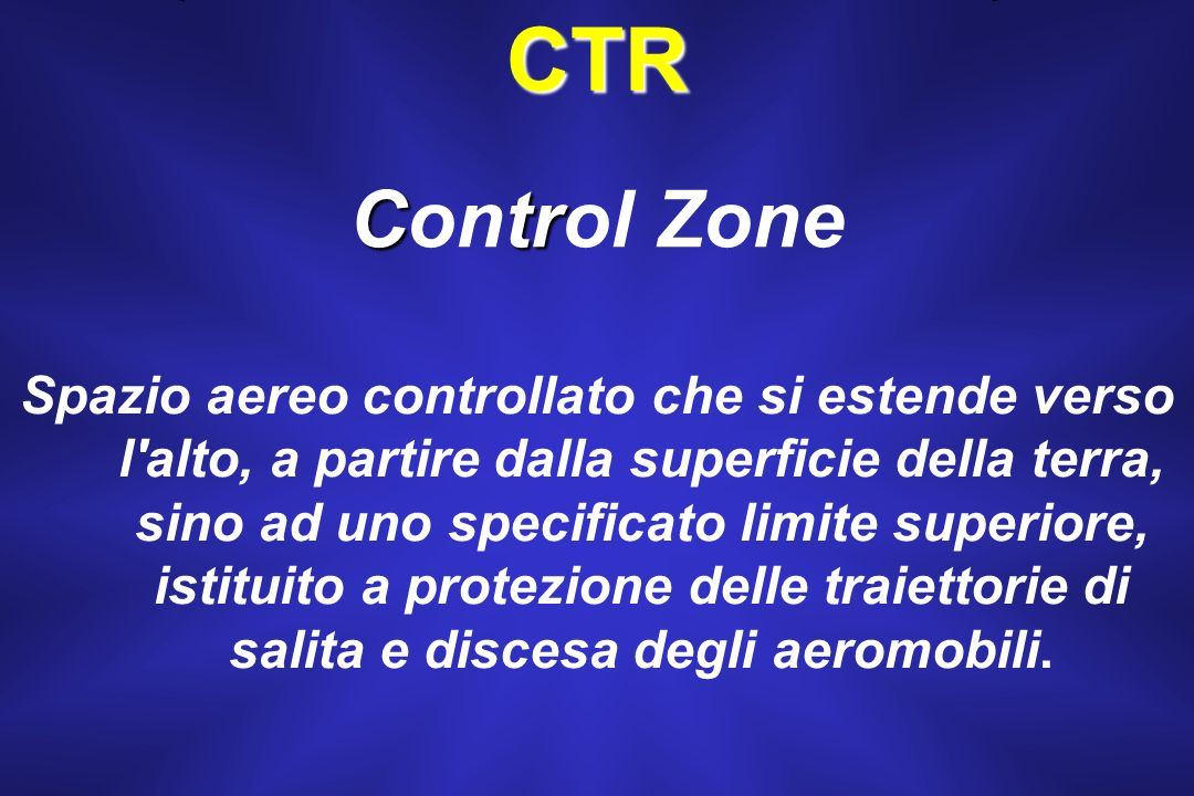 CTR Control Zone.