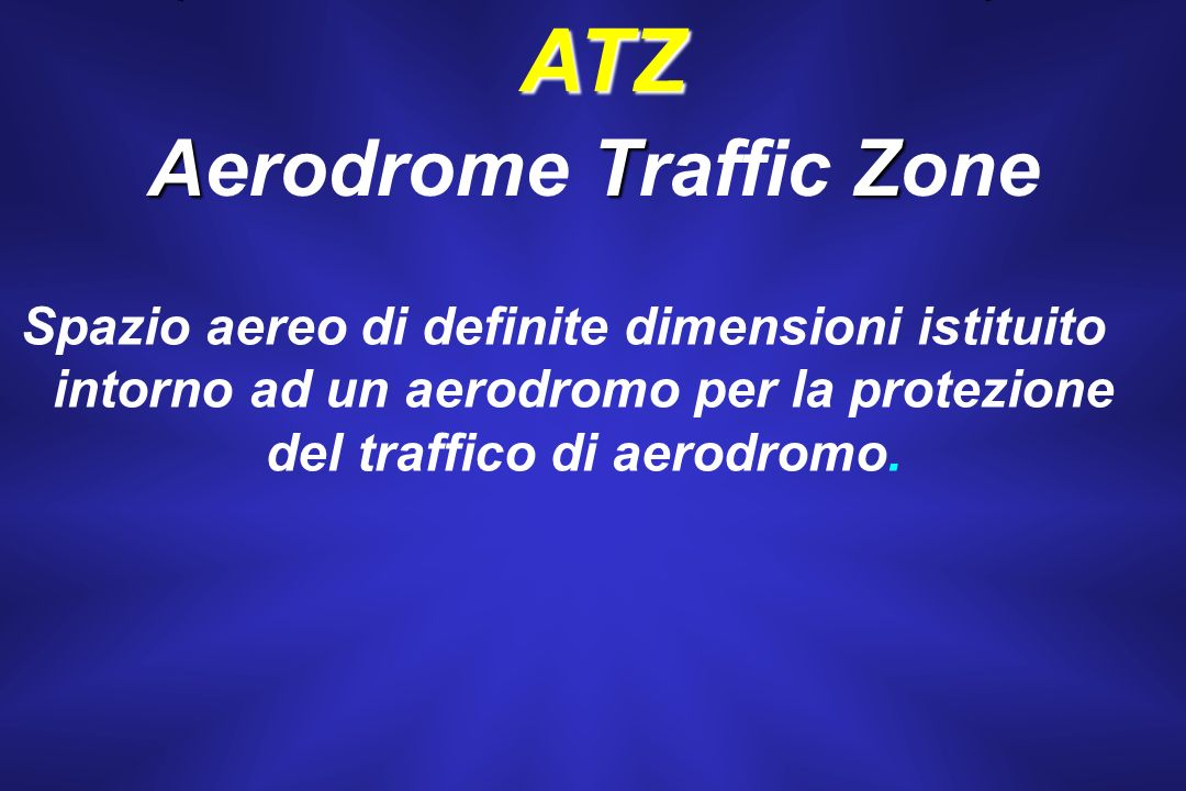 Aerodrome Traffic Zone