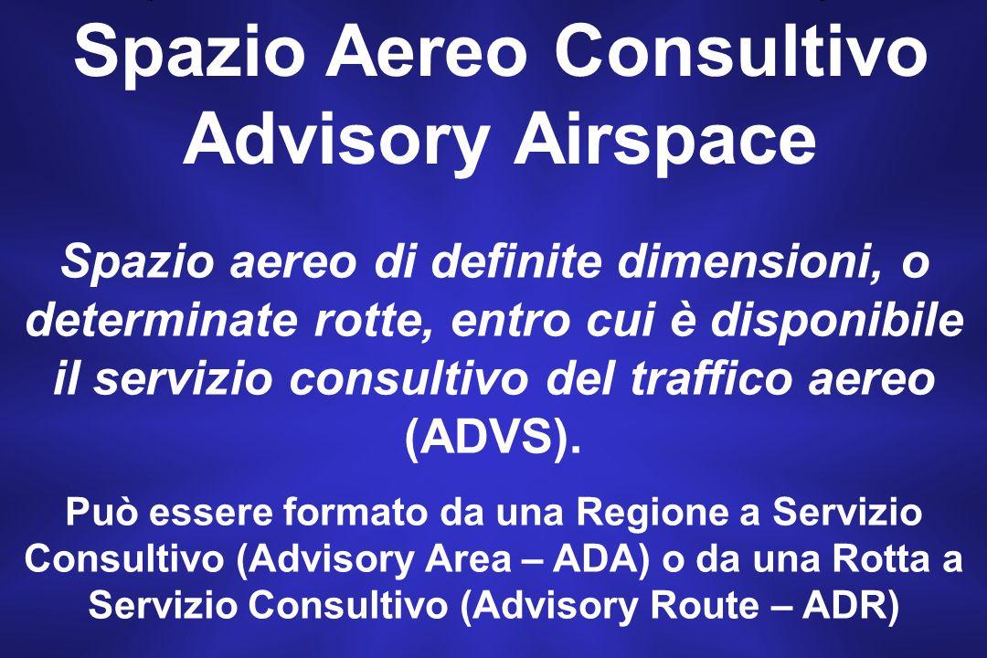 Spazio Aereo Consultivo Advisory Airspace