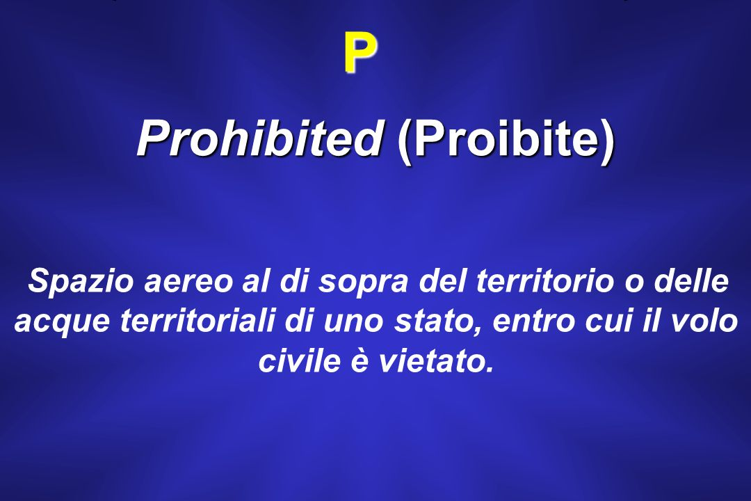 Prohibited (Proibite)