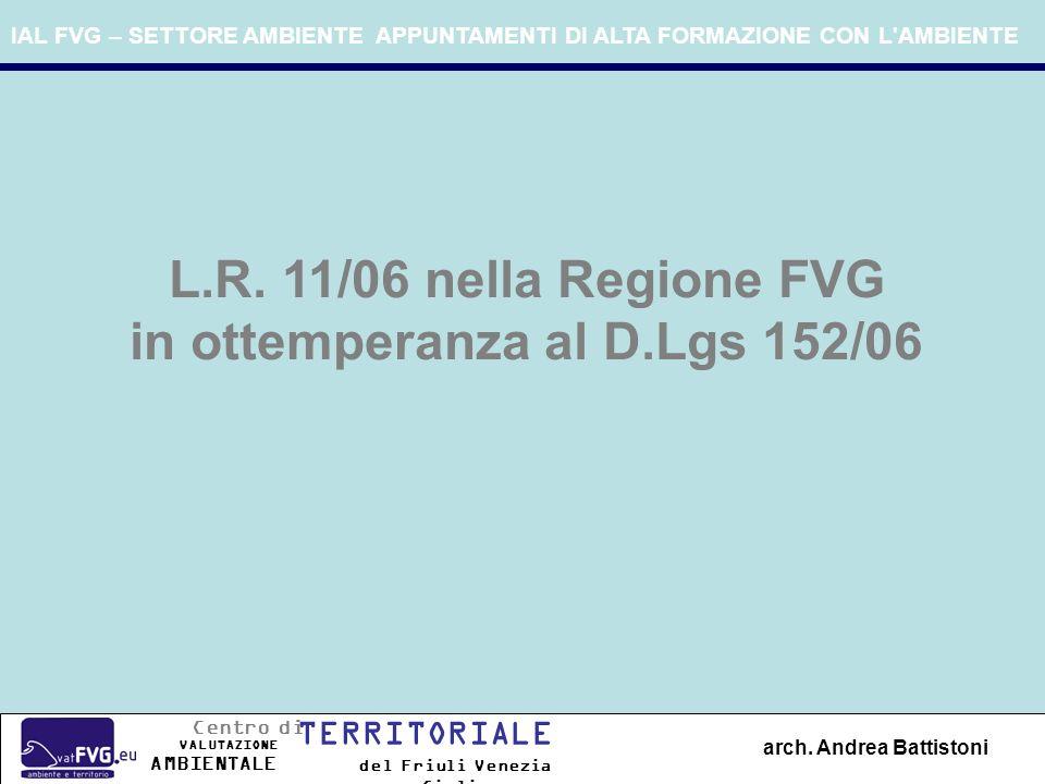 in ottemperanza al D.Lgs 152/06