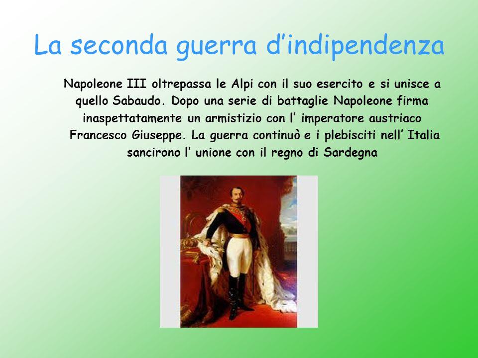 La seconda guerra d'indipendenza