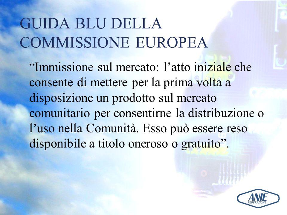 GUIDA BLU DELLA COMMISSIONE EUROPEA