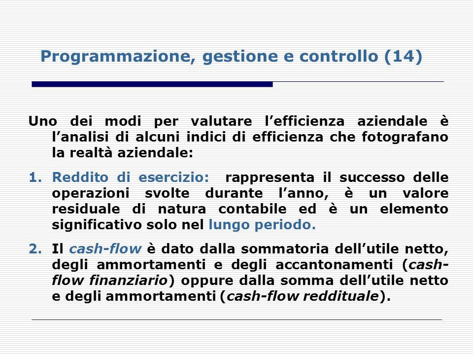 Programmazione, gestione e controllo (14)