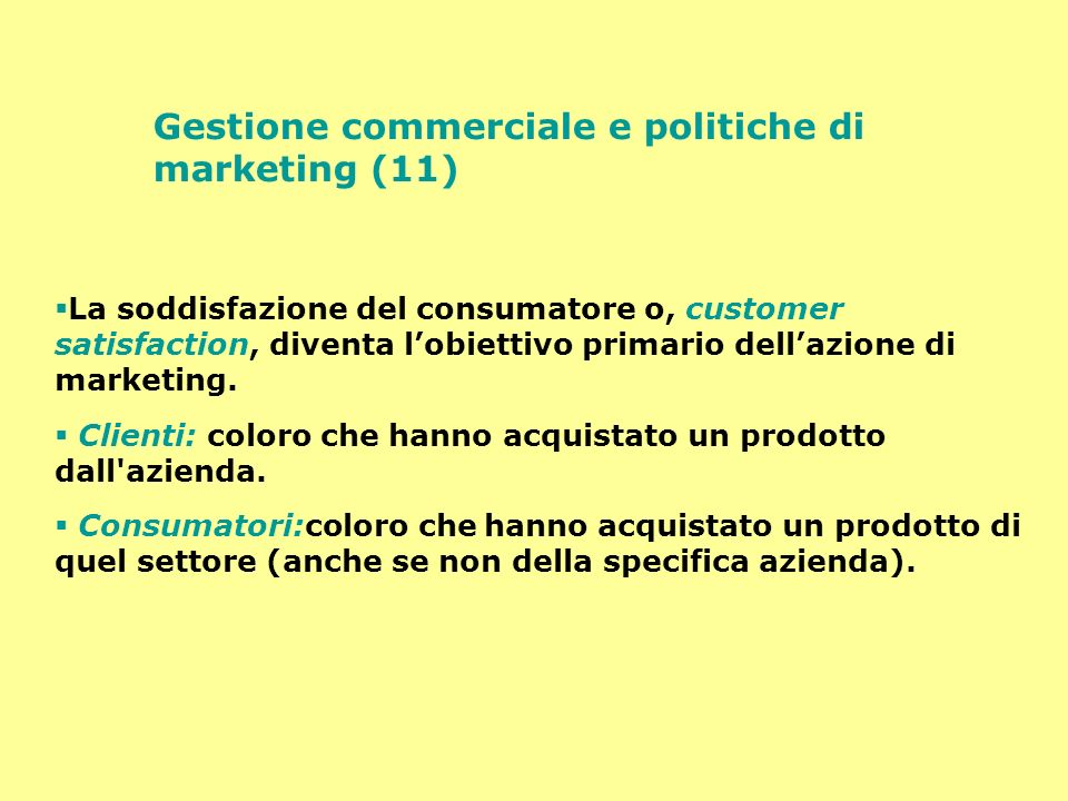 Gestione commerciale e politiche di marketing (11)