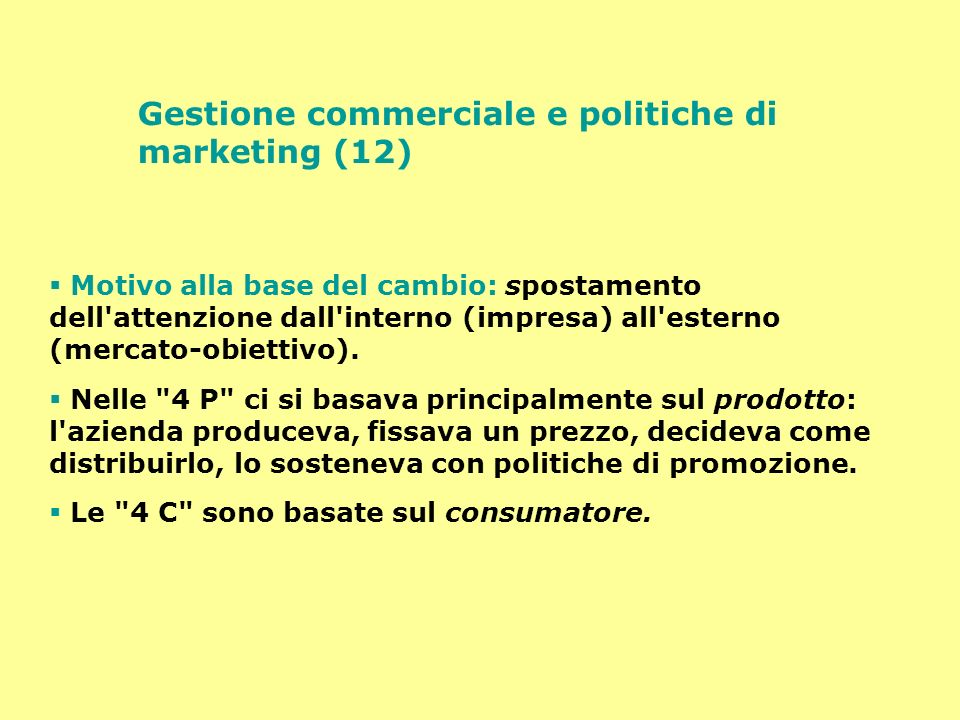 Gestione commerciale e politiche di marketing (12)