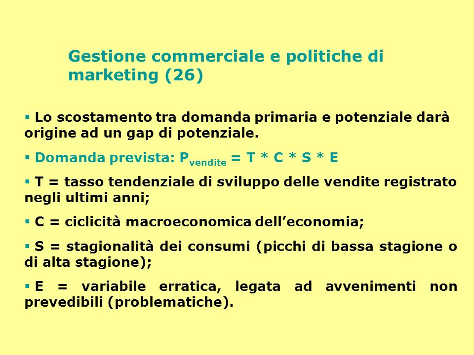Gestione commerciale e politiche di marketing (26)