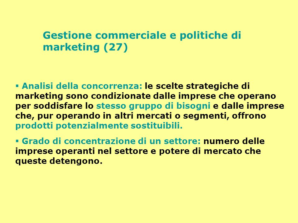 Gestione commerciale e politiche di marketing (27)