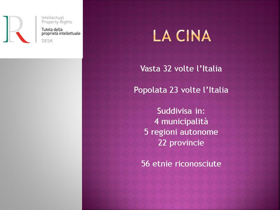 Popolata 23 volte l'Italia