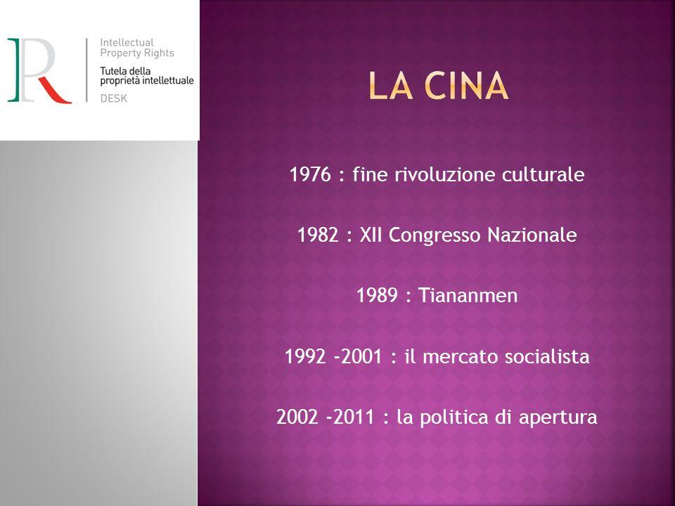 La Cina 1976 : fine rivoluzione culturale
