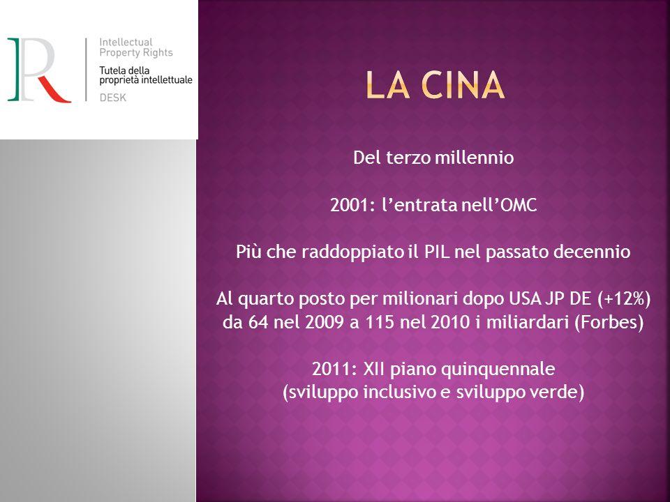 La Cina Del terzo millennio 2001: l'entrata nell'OMC