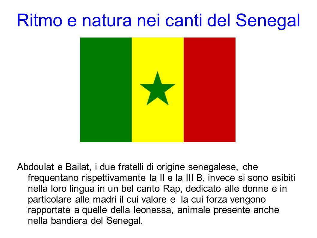 Ritmo e natura nei canti del Senegal