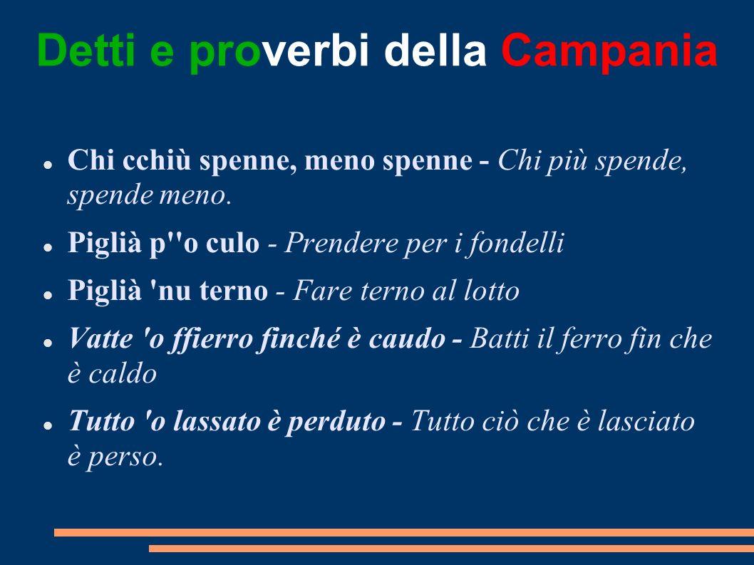 Detti e proverbi della Campania