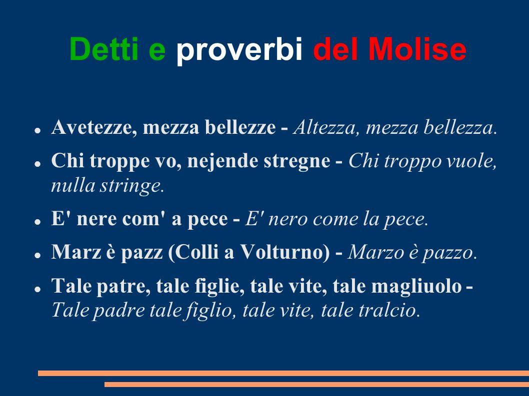 Detti e proverbi del Molise