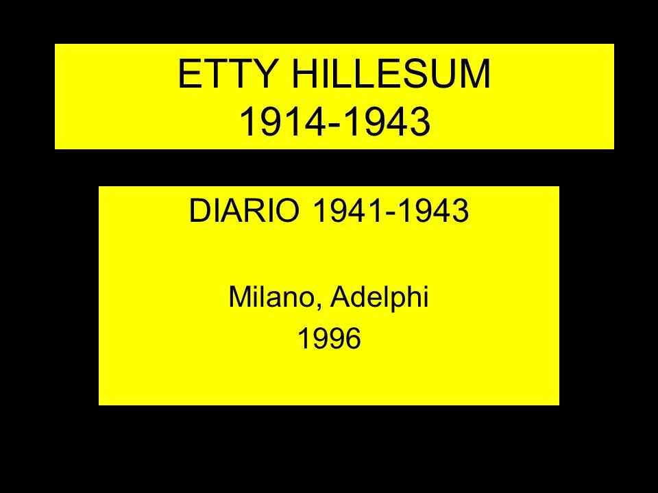 DIARIO 1941-1943 Milano, Adelphi 1996