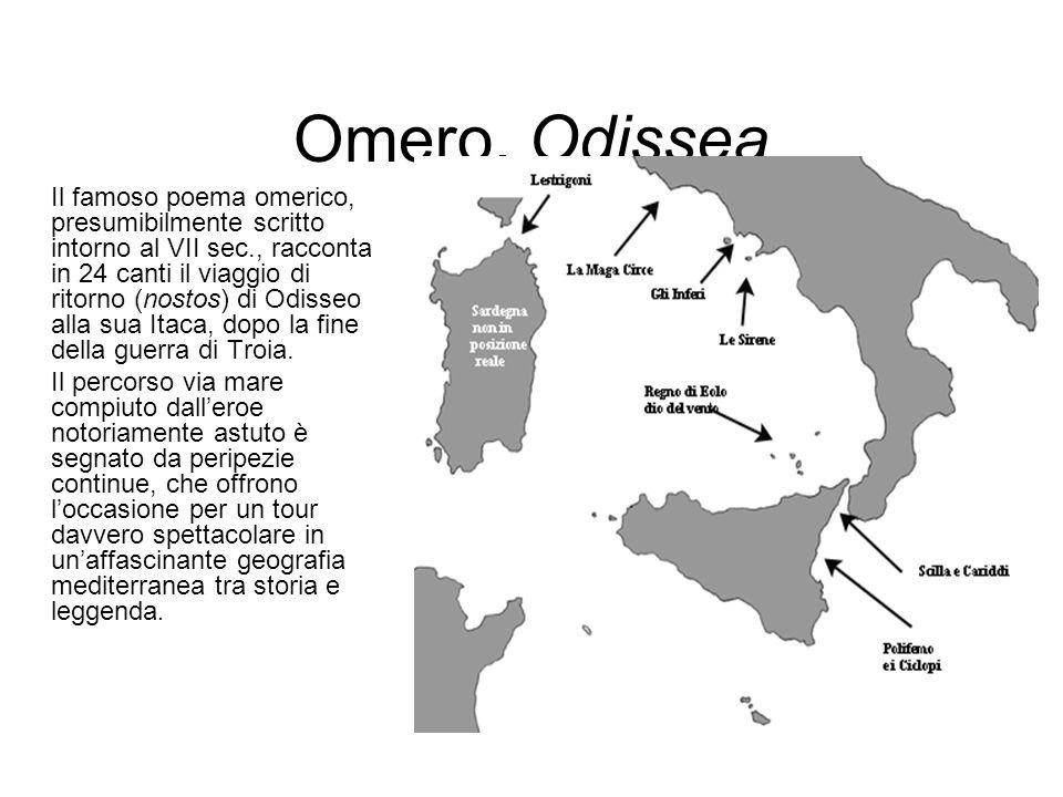 Omero, Odissea
