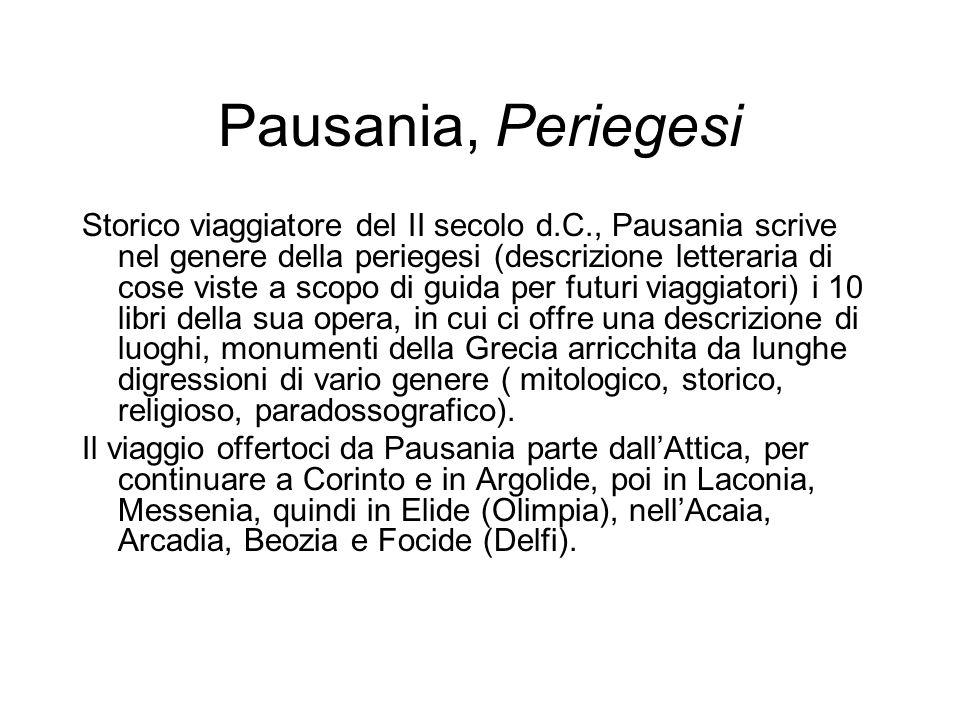 Pausania, Periegesi