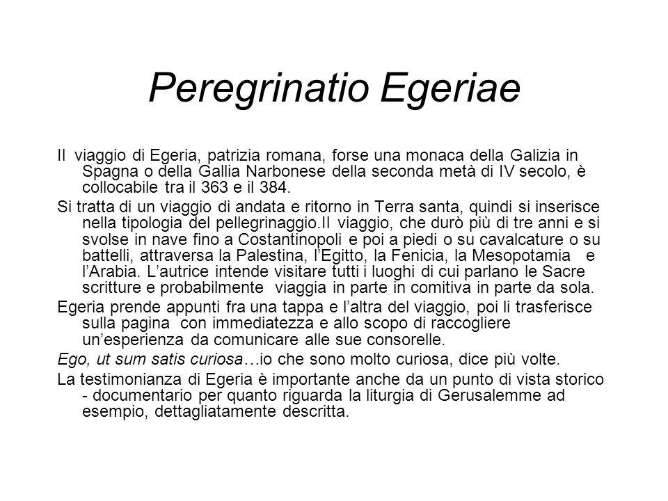 Peregrinatio Egeriae