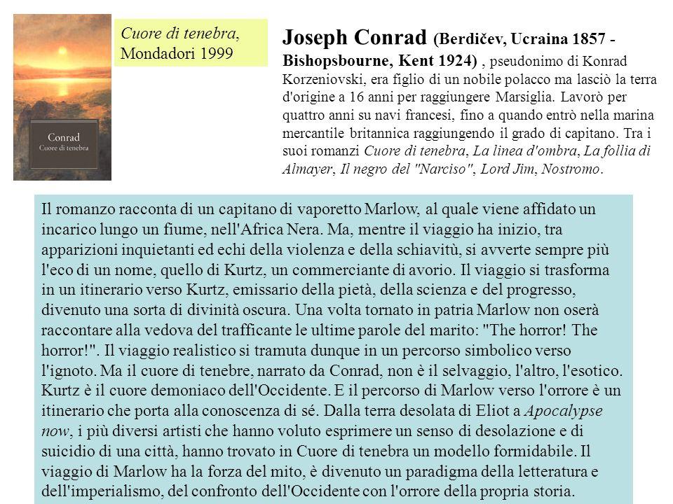 Cuore di tenebra, Mondadori 1999