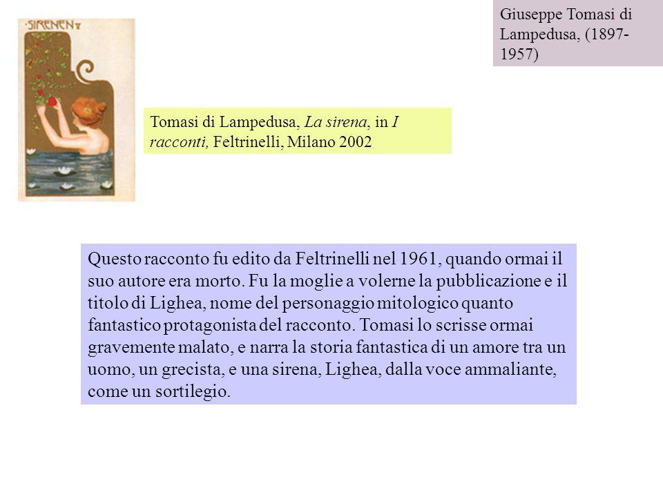 Giuseppe Tomasi di Lampedusa, (1897-1957)