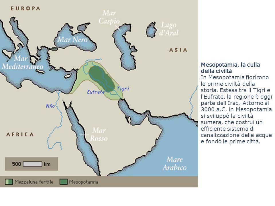Mesopotamia, la culla della civiltà