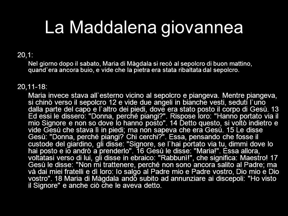 La Maddalena giovannea
