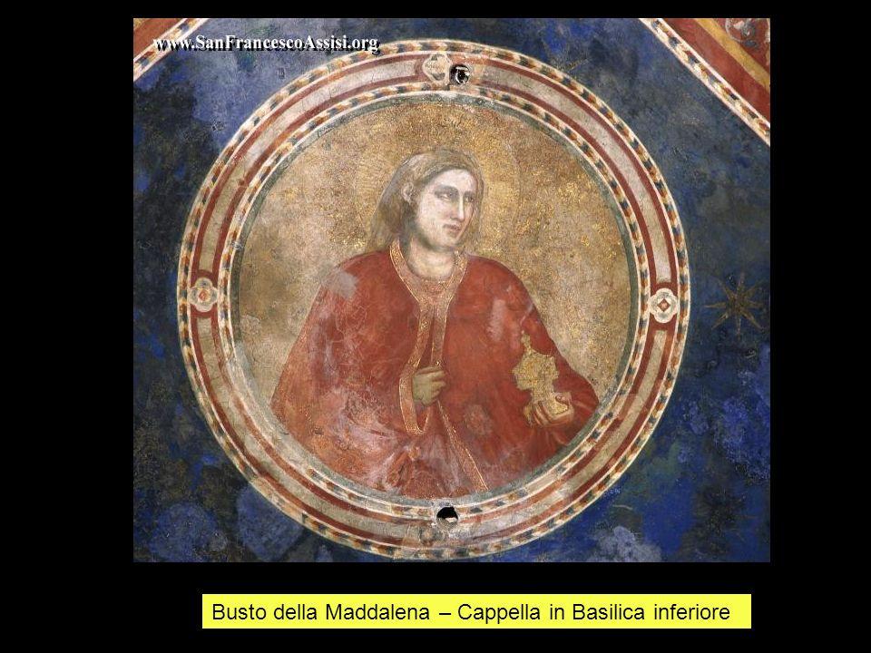 Busto della Maddalena – Cappella in Basilica inferiore