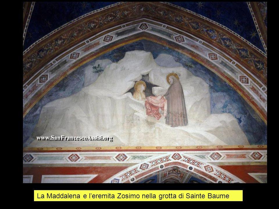 La Maddalena e l'eremita Zosimo nella grotta di Sainte Baume