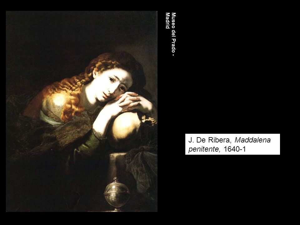 J. De Ribera, Maddalena penitente, 1640-1