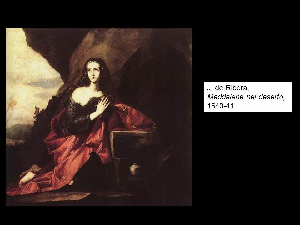 J. de Ribera, Maddalena nel deserto, 1640-41