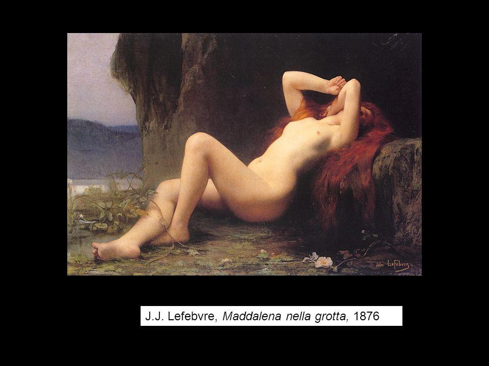 J.J. Lefebvre, Maddalena nella grotta, 1876