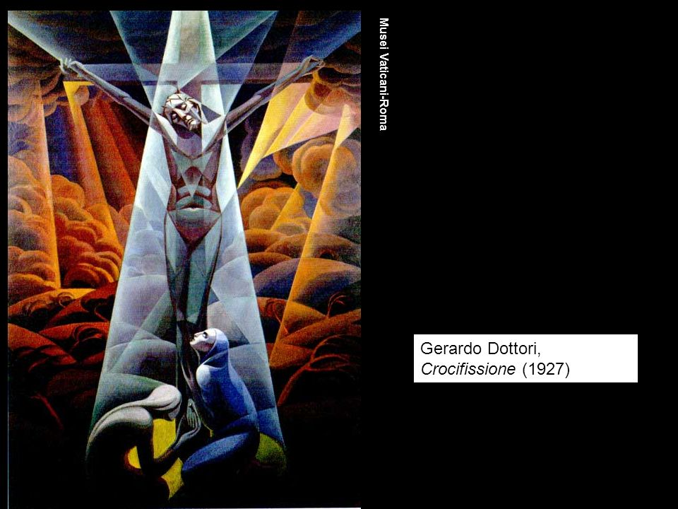Gerardo Dottori, Crocifissione (1927)