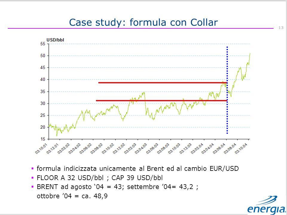 Case study: formula con Collar