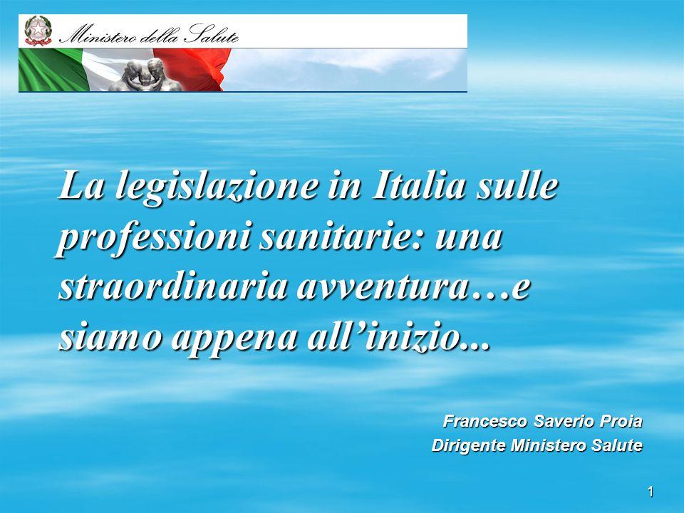 Francesco Saverio Proia Dirigente Ministero Salute