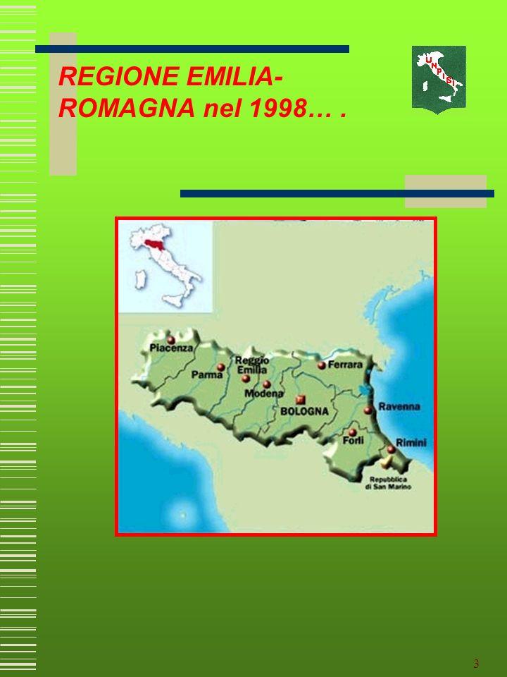 REGIONE EMILIA-ROMAGNA nel 1998… .