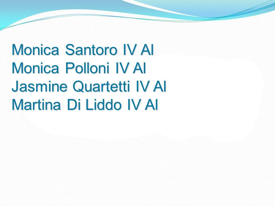 Monica Santoro IV Al Monica Polloni IV Al Jasmine Quartetti IV Al Martina Di Liddo IV Al